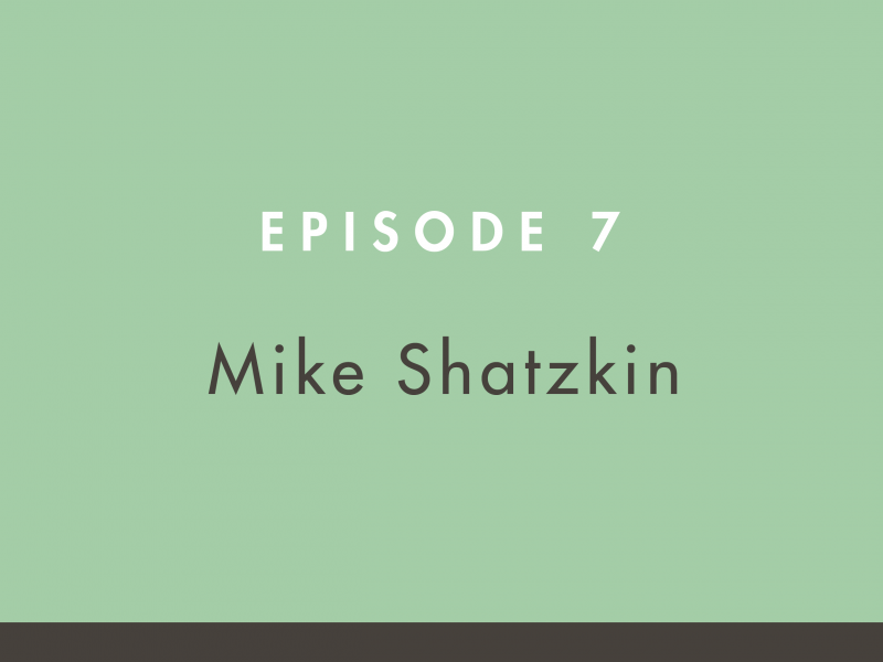 Mike Shatzkin on the Building Books Podcast